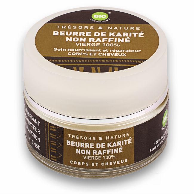 Beurre de Karité non-raffiné Vierge 100% Bio - Trésors et Nature